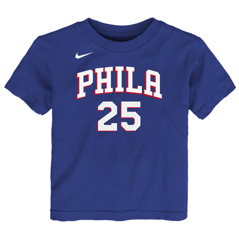 BEN SIMMONS PHILADELPHIA 76ERS NBA NIKE ICON TODDLER T-SHIRT
