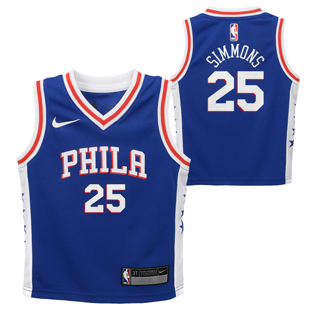 BEN SIMMONS PHILADELPHIA 76ERS NBA ICON TODDLER JERSEY - Basketball Jersey World