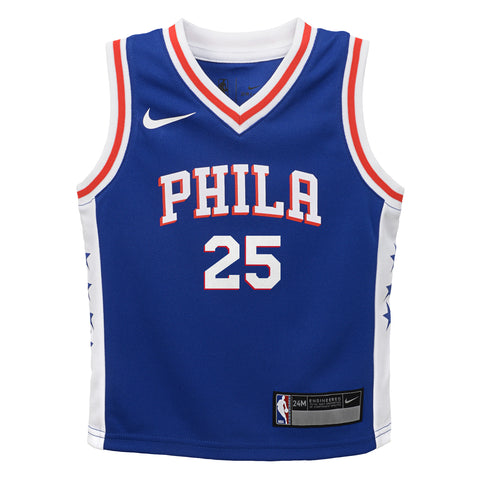 BEN SIMMONS PHILADELPHIA 76ERS NBA NIKE ICON INFANT JERSEY 25d93a359