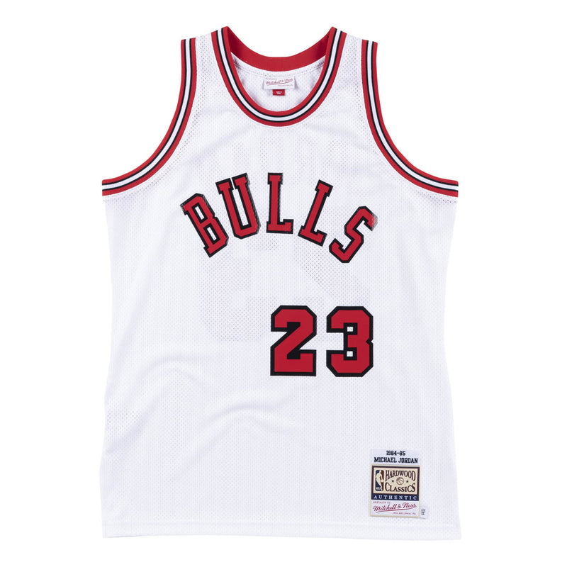 Michael Jordan Chicago Bulls Hardwood Classics Throwback Premium Rookie NBA Authentic Jersey