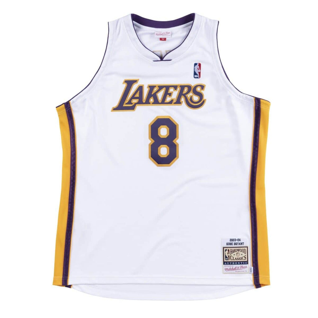 Kobe Bryant Los Angeles Lakers Hardwood Classics Throwback 2003-04 NBA Authentic Jersey
