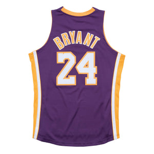Kobe Bryant Los Angeles Lakers Hardwood Classics Throwback 2006-07 NBA Authentic Jersey