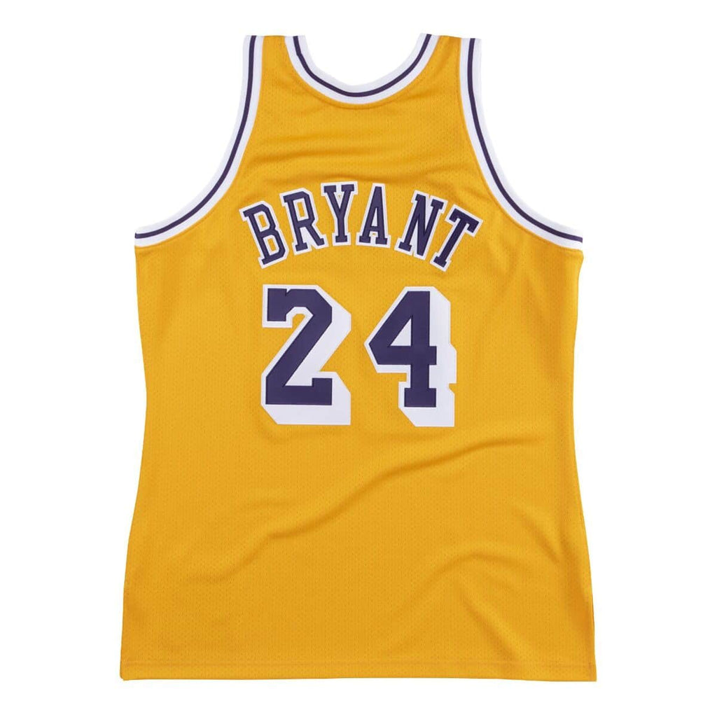 Kobe Bryant Los Angeles Lakers Hardwood Classics Throwback 2007-08 NBA Authentic Jersey
