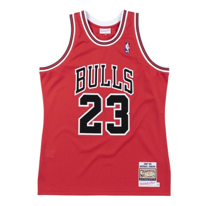 Michael Jordan Chicago Bulls Hardwood Classics Throwback Premium NBA 1987-88 NBA Authentic Jersey