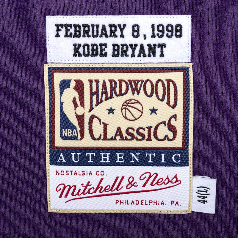 Kobe Bryant 1998 All Star Game Hardwood Classics Throwback NBA Authentic Jersey