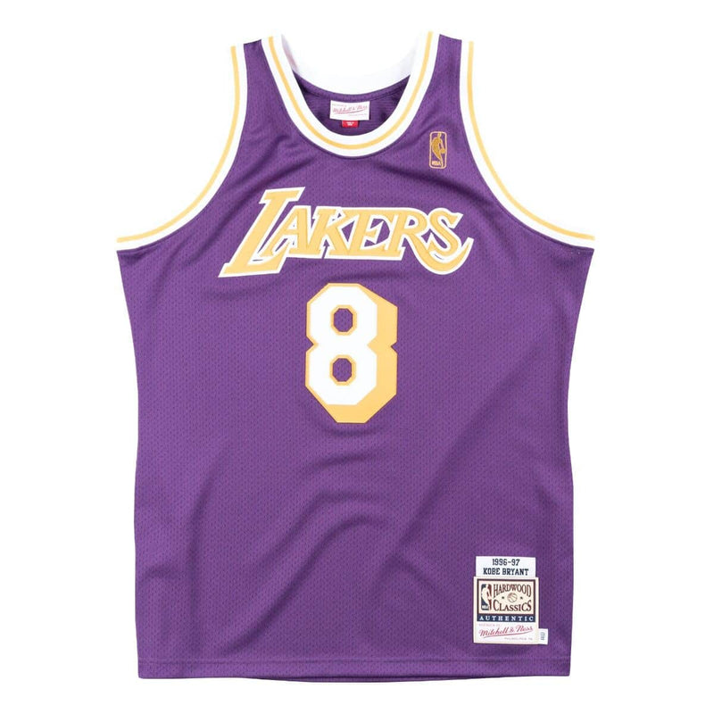 Kobe Bryant Lakers 1996 Rookie Throwback NBA Authentic Jersey