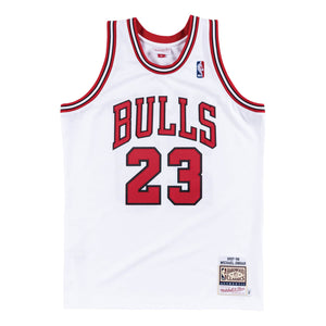 Michael Jordan Chicago Bulls Hardwood Classics Throwback Premium 1997-98 NBA Authentic Jersey