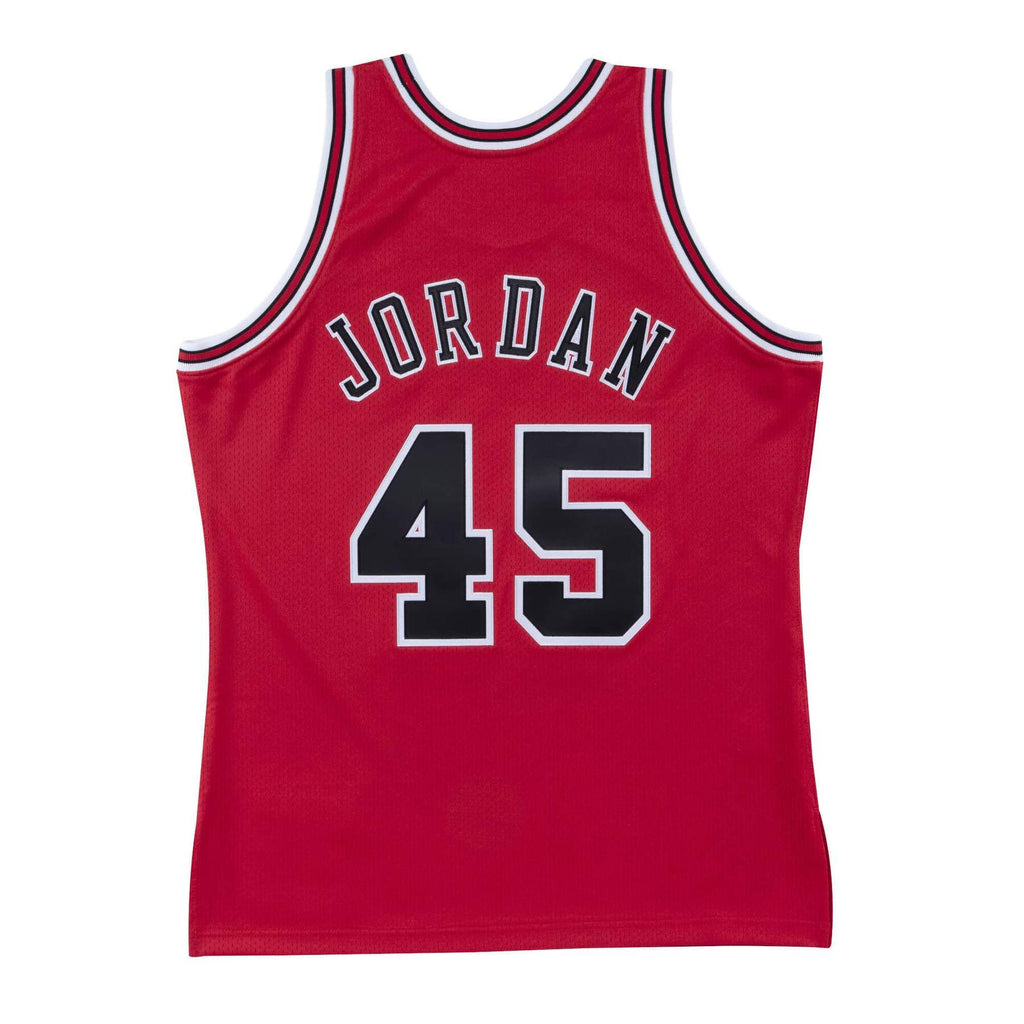 Michael Jordan Chicago Bulls Hardwood Classics Throwback Premium NBA 1994-95 NBA Authentic Jersey