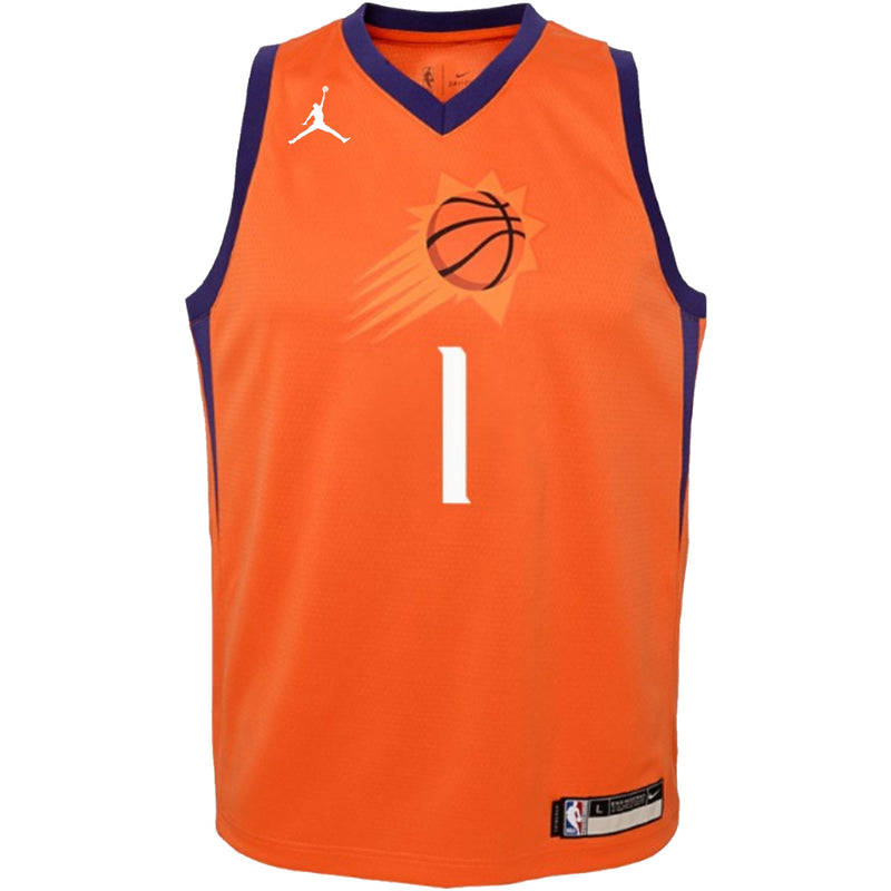 Devin Booker Phoenix Suns 2021 Statement Edition Youth NBA Swingman Jersey