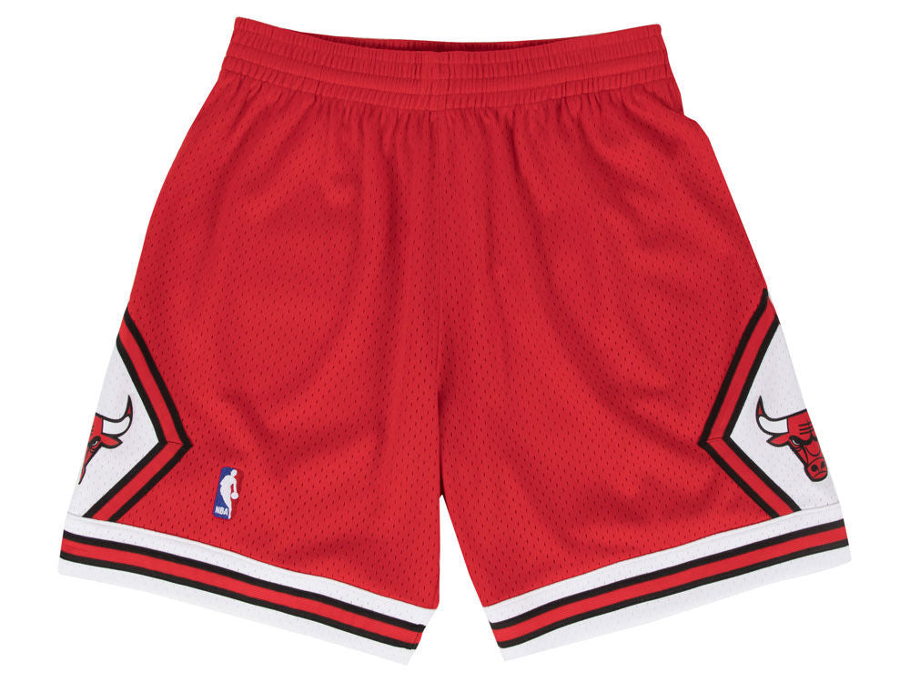 CHICAGO BULLS NBA HARDWOOD CLASSICS THROWBACK SWINGMAN SHORTS - Basketball Jersey World