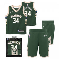 Giannis Antetokounmpo Milwaukee Bucks Icon Edition Boys NBA Box Set