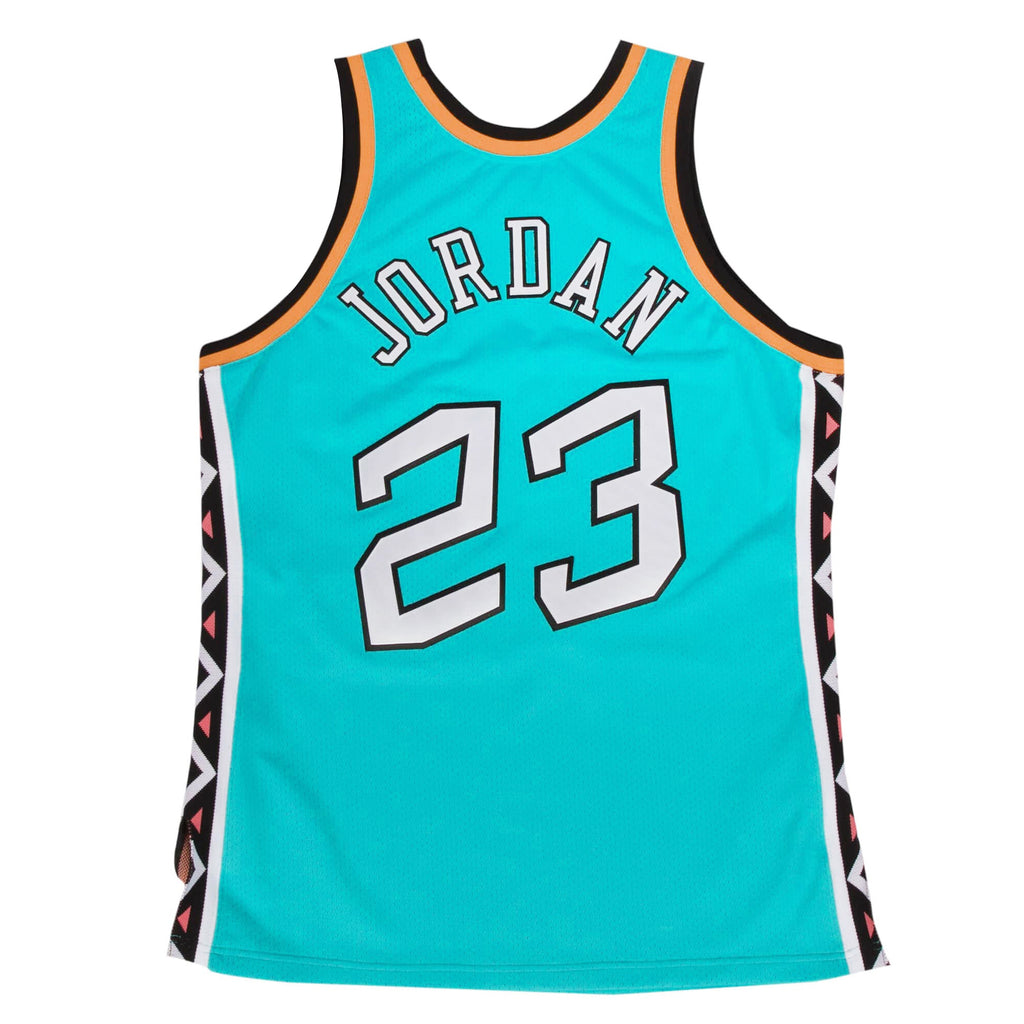 Michael Jordan 1996 All Star Game Hardwood Classics Throwback Authentic Jersey