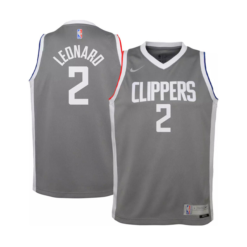 Kawhi Leonard Los Angeles Clippers Earned Edition Youth NBA Swingman Jersey