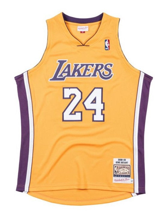 Kobe Bryant Los Angeles Lakers Hardwood Classics Throwback 2008-09 NBA Authentic Jersey