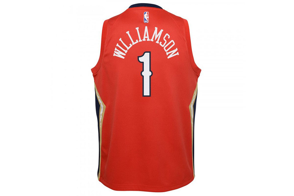 Zion Williamson New Orlean Pelicans 2021 Statement Edition Youth NBA Swingman Jersey