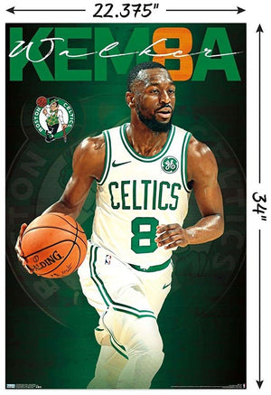 Kemba Walker Boston Celtics NBA Wall Poster