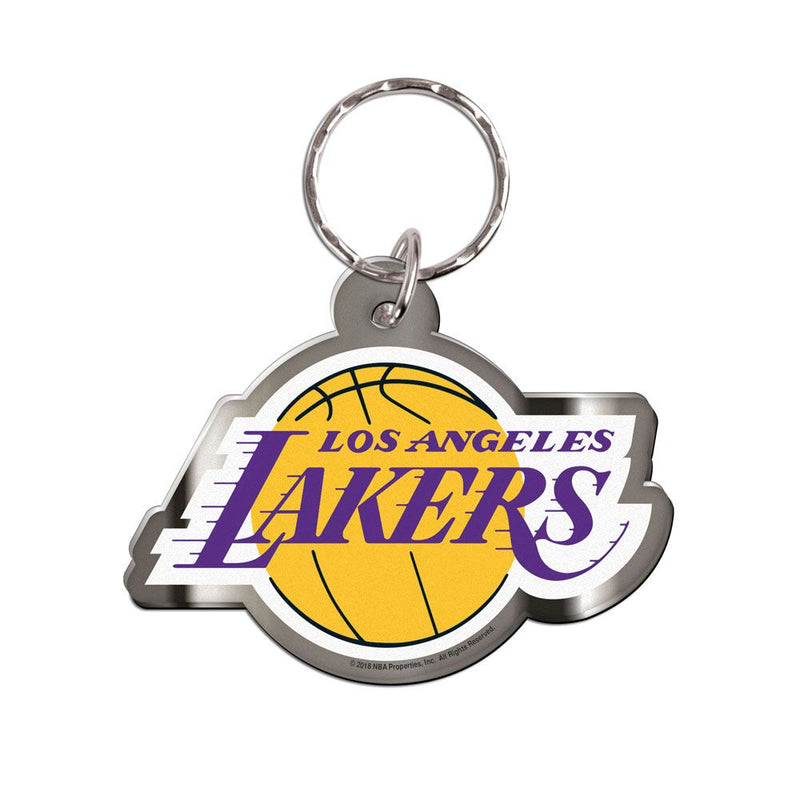 Los Angeles Lakers Premium Freeform Team Logo NBA Keyring