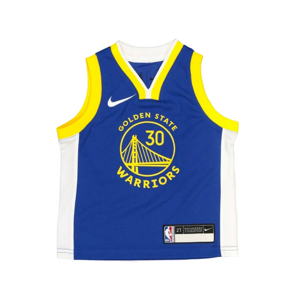 Stephen Curry Golden State Warriors 2021 Icon Edition Toddler NBA Jersey