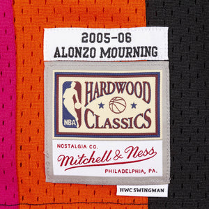 Alonzo Mourning Miami Floridians Hardwood Classics Throwback NBA Swingman Jersey