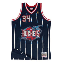 Hakeem Olajuwon Houston Rockets Hardwood Classics Throwback NBA Swingman Jersey