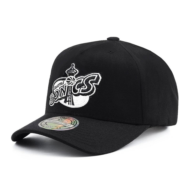Seattle Supersonics Classic Red A-Frame NBA Snapback Hat