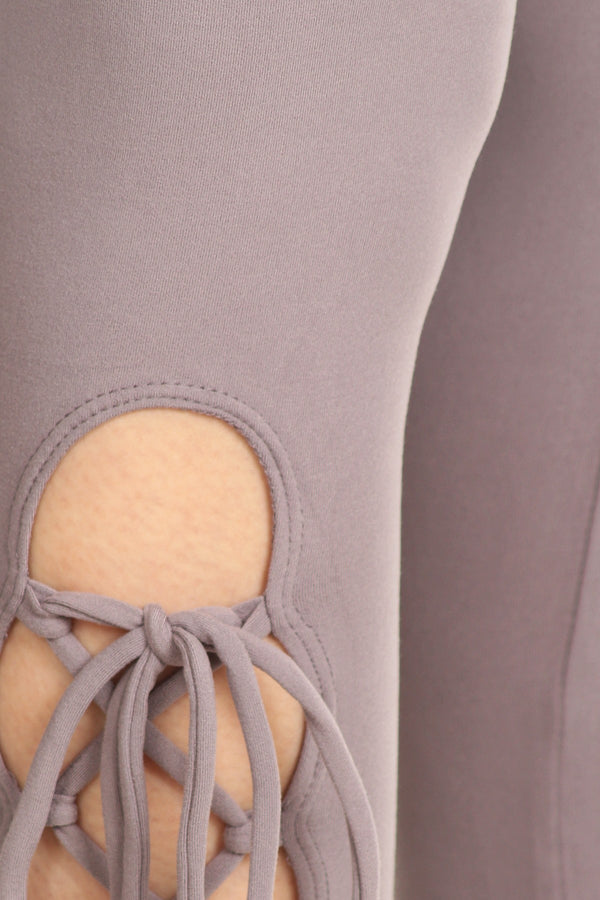 Snuggle Lace Up Leggings