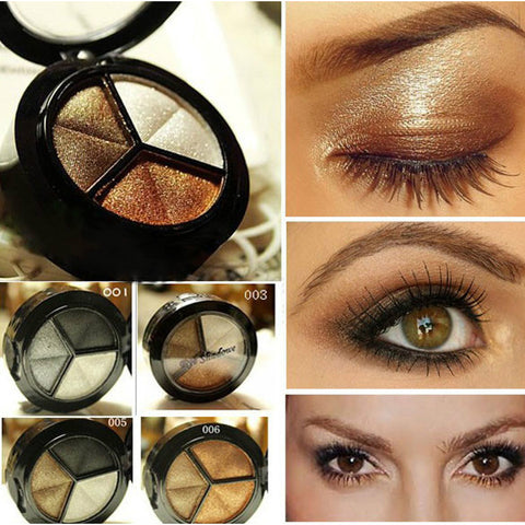 Eye Shadow 3 tone Palette 8 Styles