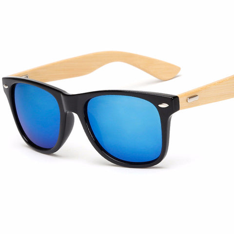 Wood Sunglasses Bamboo  Retro Shades