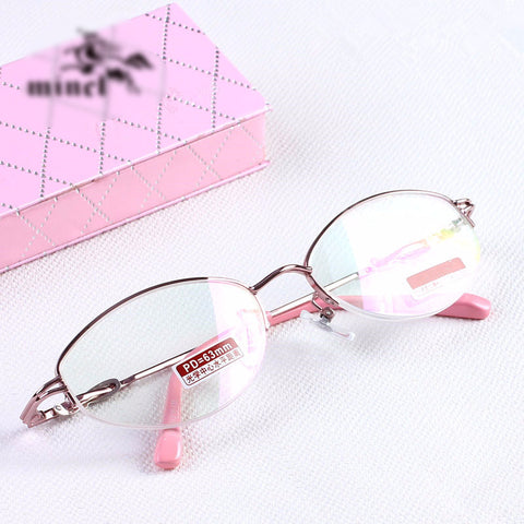 Pink Reading Glasses anti-fatigue anti-uv