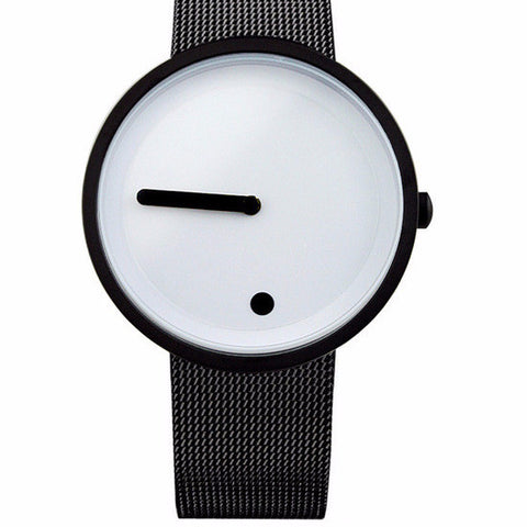 Minimalist style wristwatch Stainless Steel