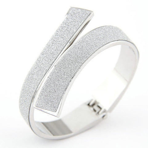 Fashion Gold/Silver Cuff Bracelet