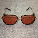 Men Luxury Brand Eyewear Steampunk