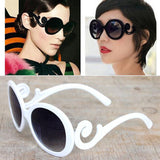 Retro Round  Butterfly Vintage Sunglasses UV400