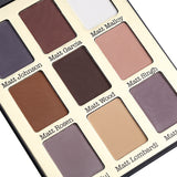 Professional 9 Color Eye Shadow Palette