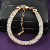 Rose Gold Wire Mesh Chain bracelet