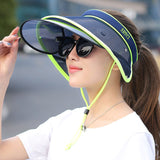 Retractable Sun Hat Visor