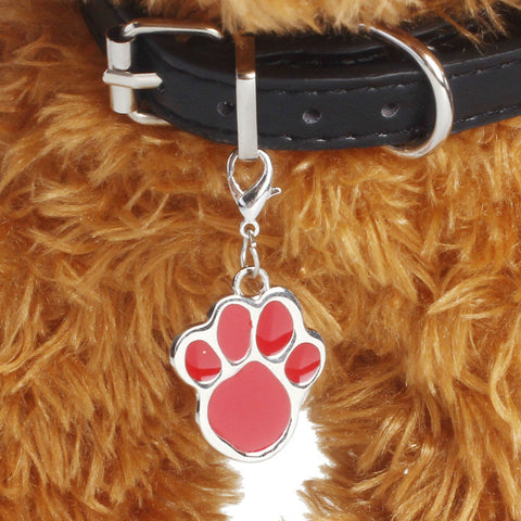 Pawprint Necklace Collar Pendant for Puppy