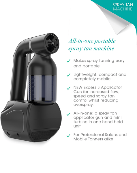 Tan.Handy Portable Spray Tan Machine