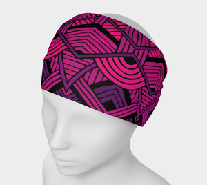 Everyday Headband - Native Magenta
