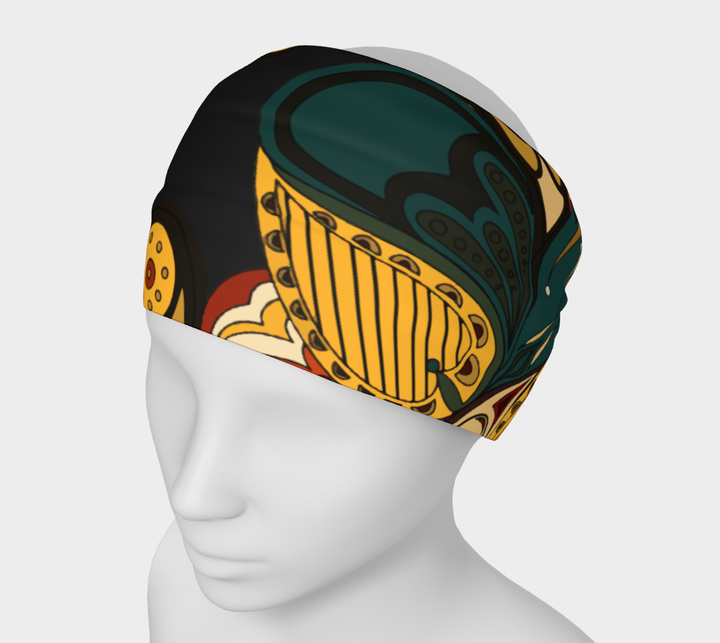 Everyday Headband- Paisley Black