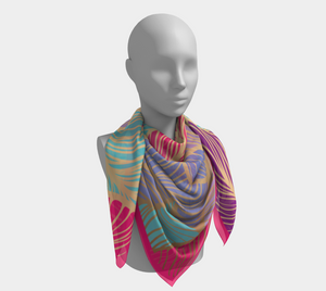 On the Go Scarf - Multi colored