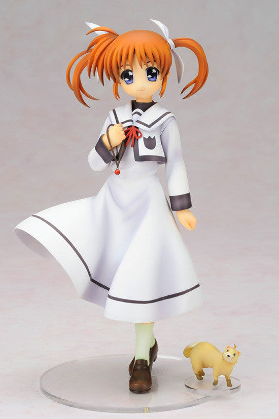 Lyrical Nanoha The Movie 1st: Nanoha Takamachi School Uniform ver. Figure