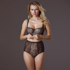 Best Balconette Bra & Sexy High Waist Brief Lavinia Lingerie Darling Collection