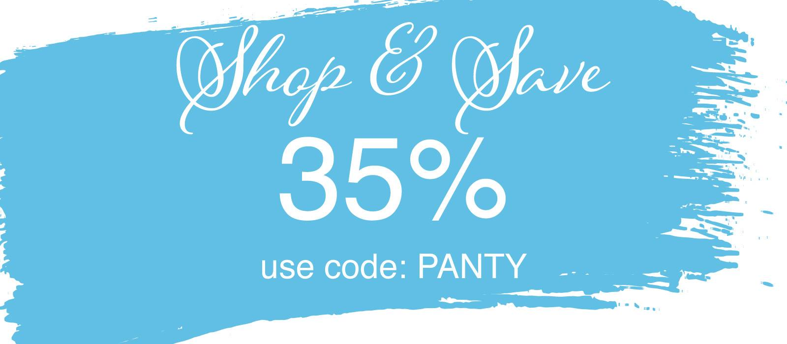 Panty Sale, Save 35% Off Selected Styles @ Lavinia Lingerie
