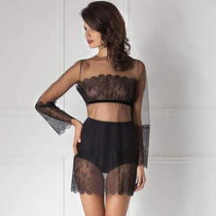 Sexy Sheer Coquettish Tunic Amoralle