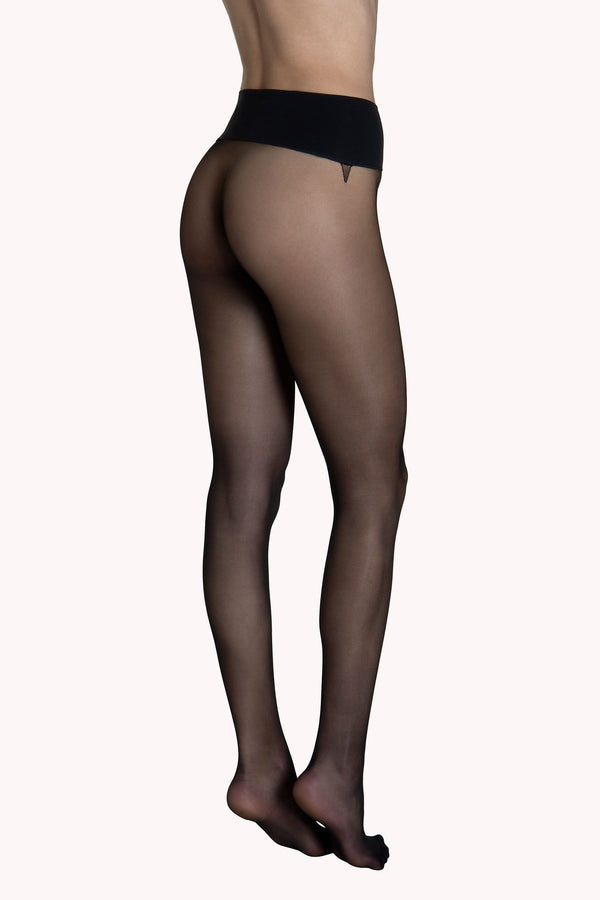 New Ladies 1 pairs Sheer Tights 15 denier  Visone Colour Large L Made in Italy