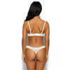 Sheer See Through Thong Panty Gossard Glossies White
