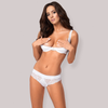 Open Cup Bra & Lace Thong Set Obsessive Miamor
