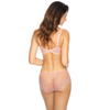 Sheer Lace Thong Panty Gorteks Scarlet Powder Pink