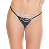 Crotchless Chain G-String Coquette Silver